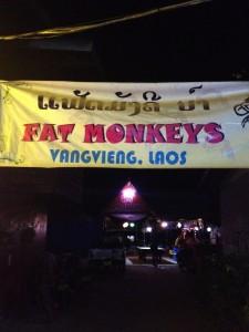 Abendlicher Anlaufpunkt: Fat Monkeys