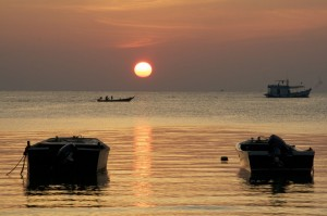 Sonnenuntergänge auf Koh Tao